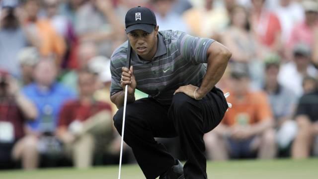 Tiger Woods zurück auf dem Golfplatz