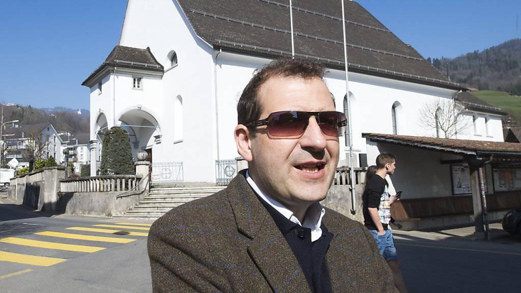 """""""Schockiert"""" über die bischöfliche Interpretation von Textstellen im Alten Testament über Homosexuelle: Bischofssprecher Giuseppe Gracia."""