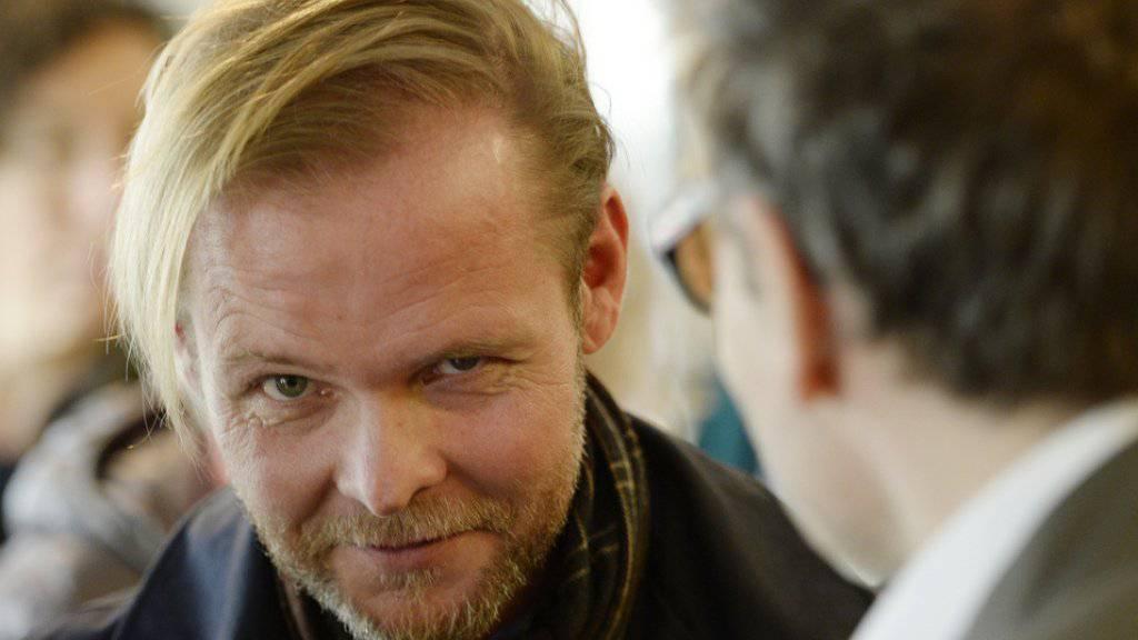 """Christian Kracht gehört mit seinem Roman """"Die Toten"""" zu den fünf Nominierten für den diesjährigen Schweizer Buchpreis. (Archivbild)"""