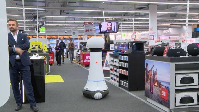 Media Markt mit neuem Verkaufsroboter