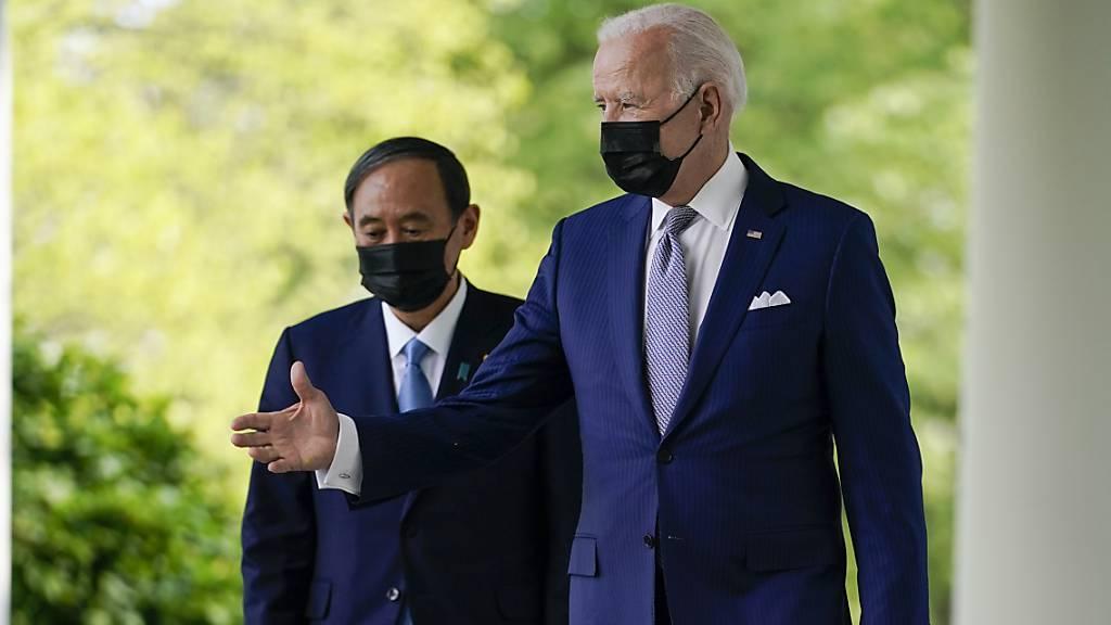 USA und Japan stellen sich «Herausforderung durch China» entgegen