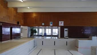 Keine Gäste mehr im Hallenbad Gelterkinden.