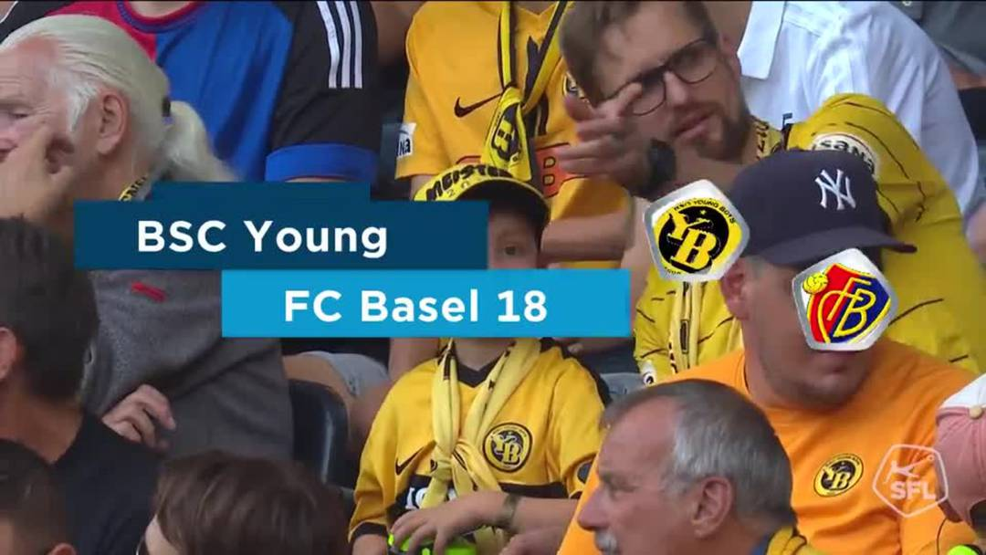 Super League, Saison 2019/20, 7. Runde: Young Boys - FC Basel 1:1