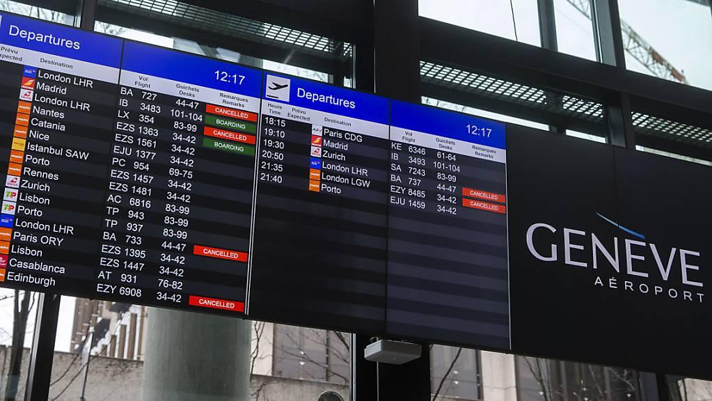 Wer ab Dienstagmittag von Irland in die Schweiz reist, muss für zehn Tage in Quarantäne. Grund dafür ist die Verbreitung des mutierten Coronavirus in dem Inselstaat. (Symbolbild)
