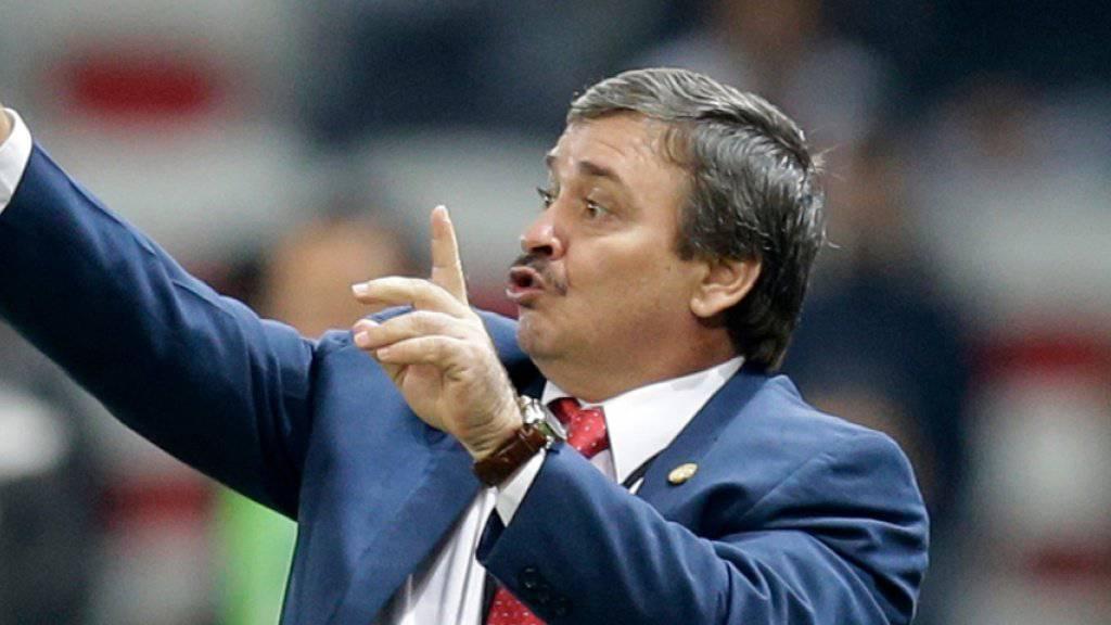 Soll den Schweizer Gruppengegner Costa Rica zum gleichen WM-Resultat wie 2014 dirigieren: Nationaltrainer Oscar Ramirez