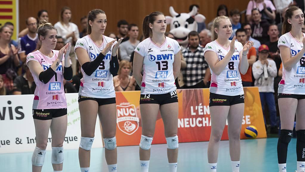 Die Volleyballerinnen von Aesch-Pfeffingen betreiben in der Coronavirus-Krise einen karitativen Hilfsdienst