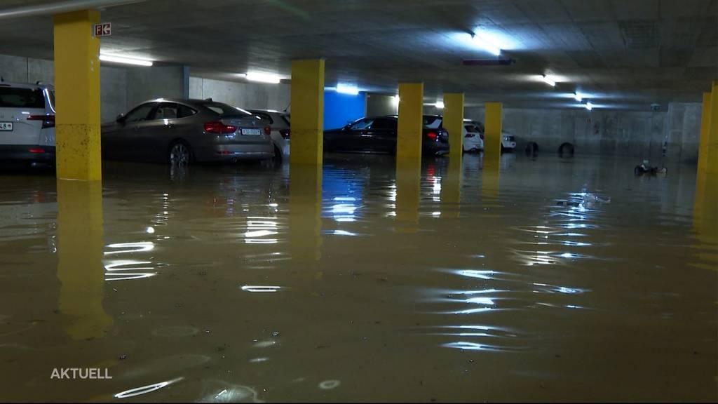 Rund 250 Keller im Niederamt überflutet