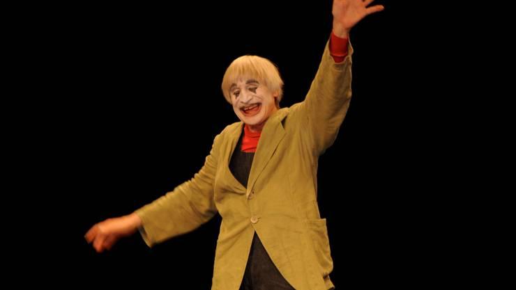 Dimitri begeisterte mit seiner herzlichen Art im Parktheater Gross und Klein, Alt und Jung.