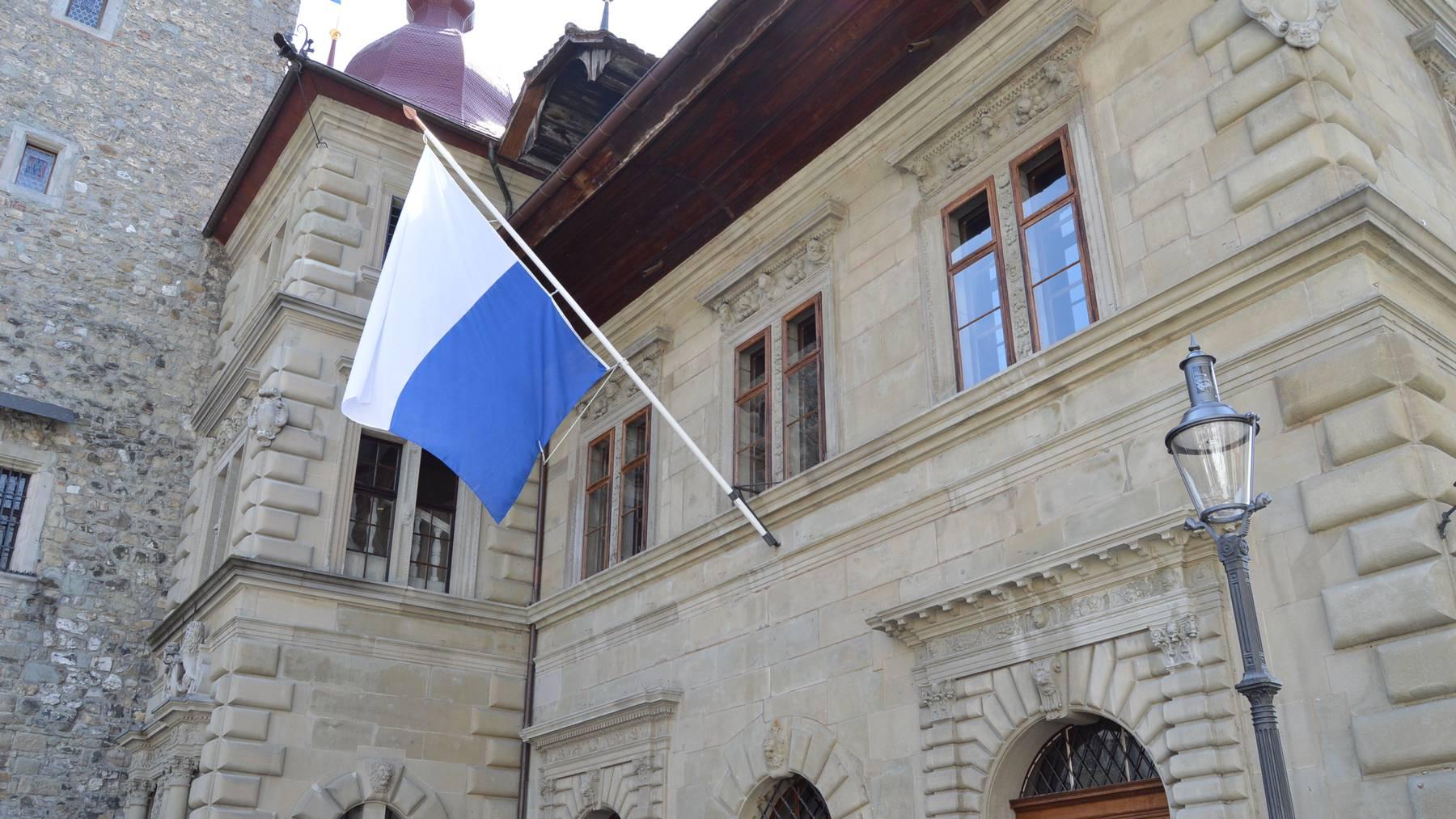 Das Rathaus in der Stadt Luzern.