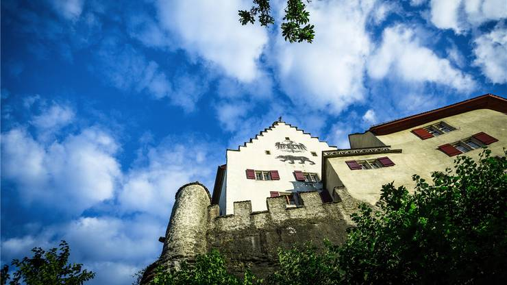 Das Schloss Lenzburg zählt zu den bedeutendsten Höhenburgen der Schweiz.