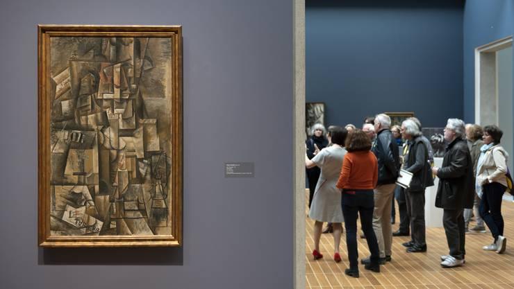 Wenn das einen Menschen darstellen soll – dann hat man es mit einem kubistischen Bild zu tun. Wie Pablo Picassos «Der Aficionado» ...