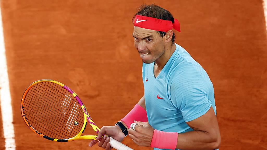 Gleichauf mit Federer: Nadal mit 20. Grand-Slam-Titel