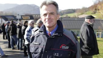 Daniel Blumer, hier noch in seiner aktuellen Funktion als Polizeikommandant des Kantons Baselland.