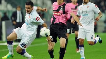 Stephan Lichtsteiner feiert mit Juventus vierten Saisonsieg
