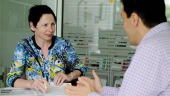 Annemarie Ducret ergänzt seit April die Sozialberatungsstelle der Lungenliga Aargau in Baden.ZVG