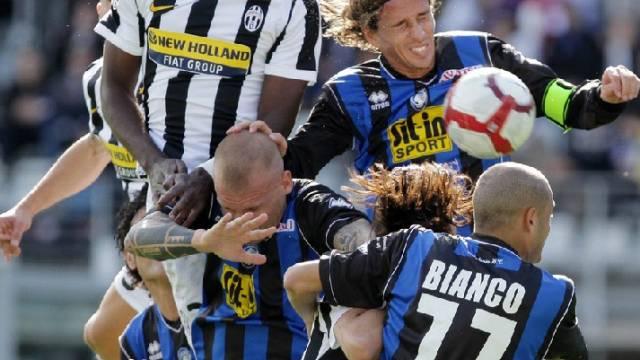 Juventus gegen Atalanta Bergamo