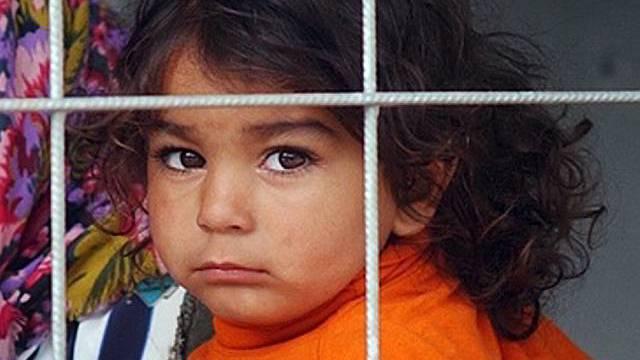Rumänisches Kind in der Schweiz (Archiv)