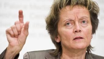 Widmer-Schlumpf informiert über die laufenden Arbeiten zur Energiepolitik (Archiv)