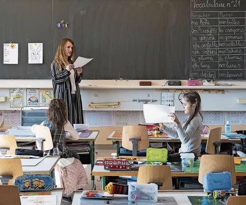 Mitte Mai dürfen die Schüler wieder ins Klassenzimmer.