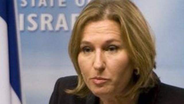 Zipi Livni (als Aussenministerin 2009 in Berlin)