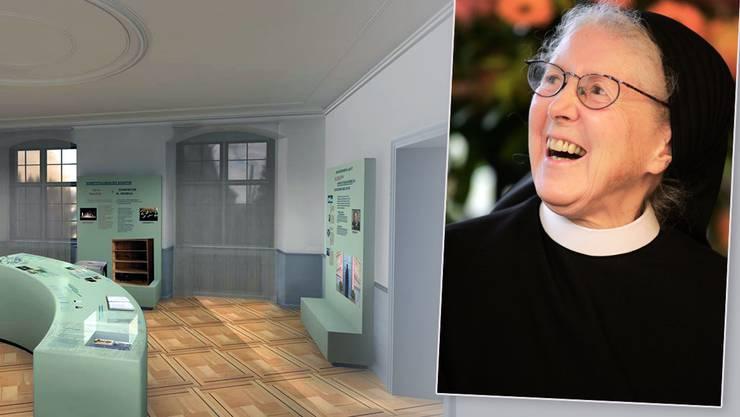 Jeweils am letzten Sonntag im Monat nach dem Gottesdienst wird der Silja-Walter-Raum geöffnet sein.