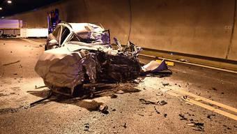 Bei Verkehrsunfällen starben im ersten Halbjahr 2017 auf Schweizer Strassen 109 Menschen, 20 mehr als in der Vorjahresperiode. (Archivbild)