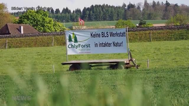 Neubau BLS-Werkstätte definitiv im Berner Chliforst