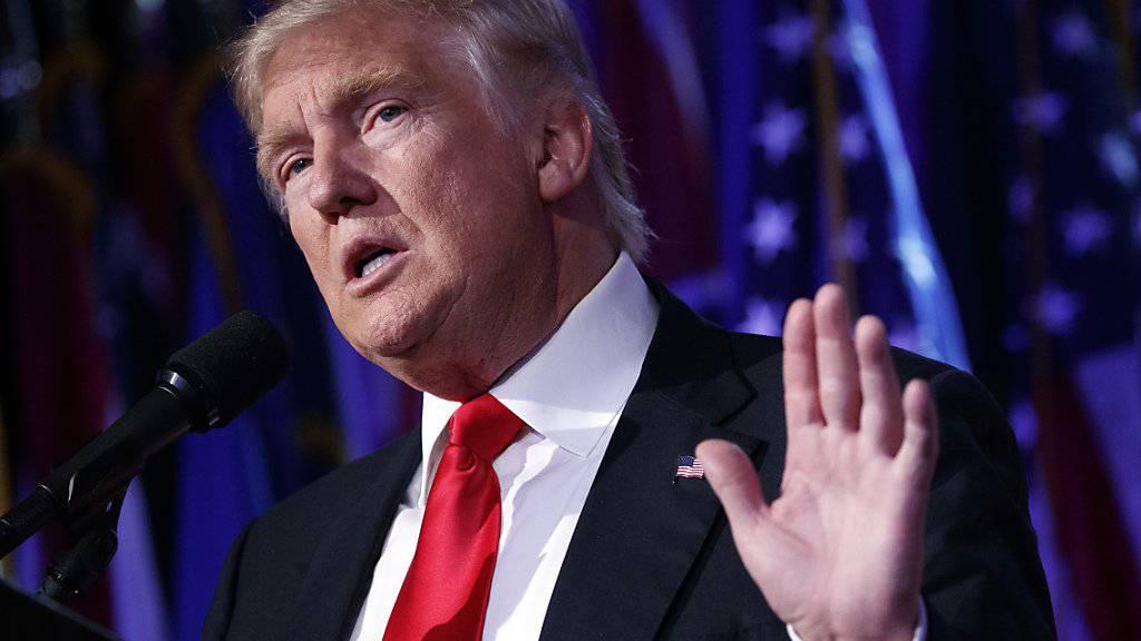 Donald Trump spricht auf Twitter von «illegal abgegebenen Stimmen».