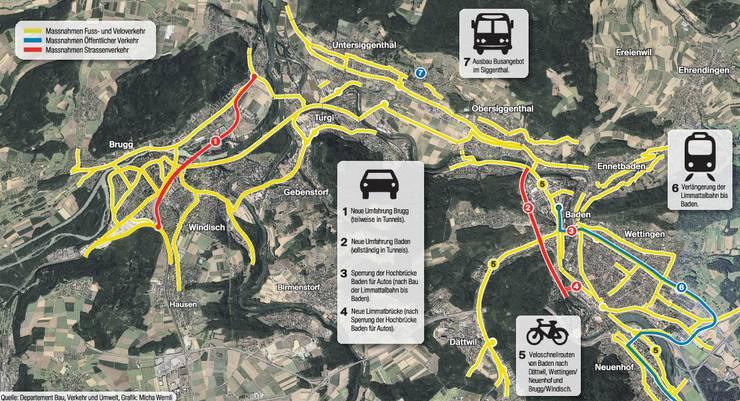 Das Regionale Verkehrskonzept für den Aargau (Oase)