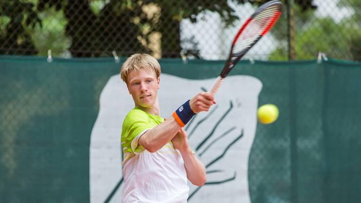 Jonas Schär feierte bereits seinen 16. Titel bei den aargauischen Junioren Meisterschaften.