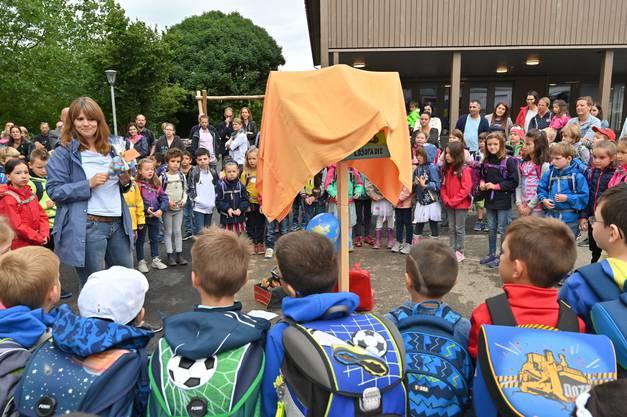 Schulanfang Primarschule Kindergarten neues Schulhaus Alp 2 Wangen