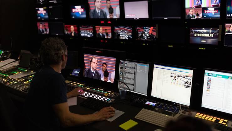 Würde die Produktion von Sendungen wie die «Arena» ausgeschrieben, könnten sich auch Private wie die AZ Medien oder die NZZ-Gruppe darum bewerben.