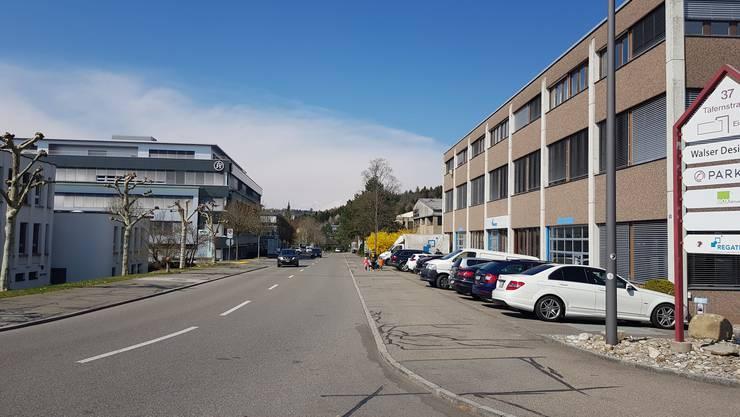 Industriequartier Täfern: 7000 Arbeitsplätze gibt es in Dättwil.