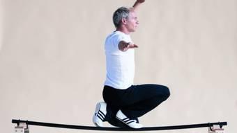 Die Kunst des Balancierens beherrscht er wie kein Zweiter. Vor der Kamera muss sich David Dimitri erst beweisen. (Archivbild)