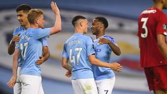 Klare Sache: Manchester City lässt den neuen Meister im Spitzenkampf alt aussehen