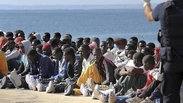 Gestrandet in Sizilien: Wie sie sind seit Jahresbeginn schon über 50'000 Flüchtlinge in Italien gelandet