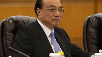 Der chinesische Ministerpräsident Li Keqiang zeigt sich für das Wirtschaftswachstum seines Landes optimistisch. (Archivbild)