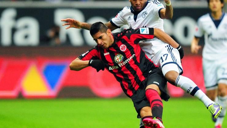 Während vier Jahren trug Carlos Zambrano das Trikot der Eintracht (Archiv)