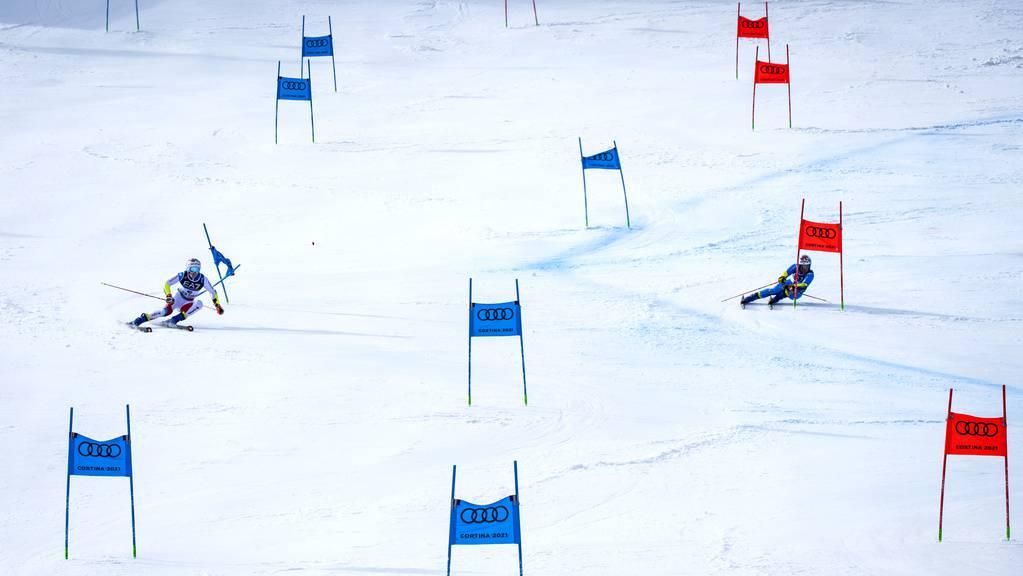 Die Schweiz blieb im Team-Wettkampf ohne Medaille.