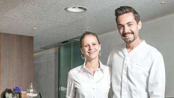 Das Ehepaar Alexandra und Manuel Steigmeier vom Restaurant Fahr in Künten-Sulz wurde vom Gault Millau