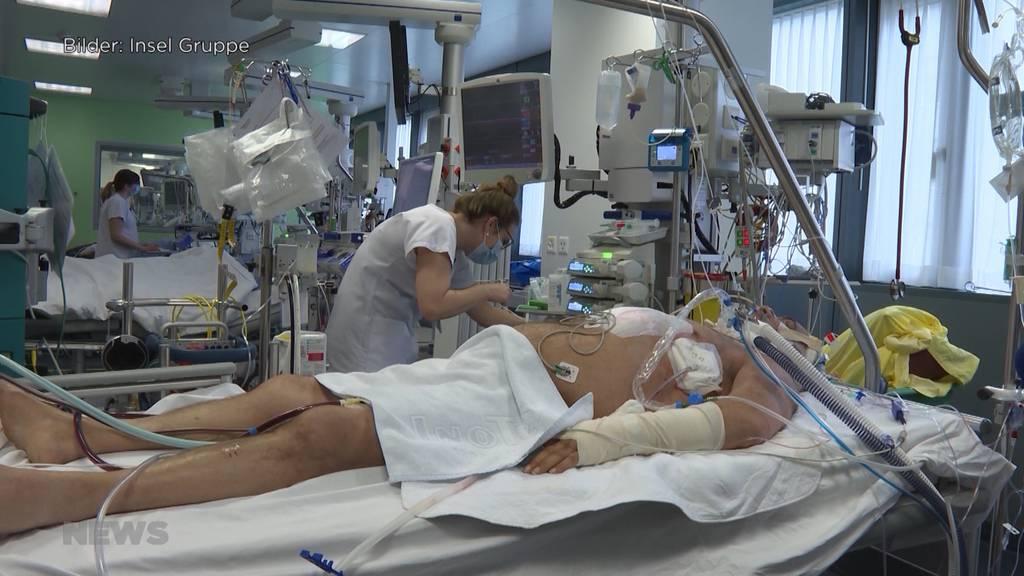 Kanton Bern schlägt Alarm: Intensivbetten sind zu 95% belegt