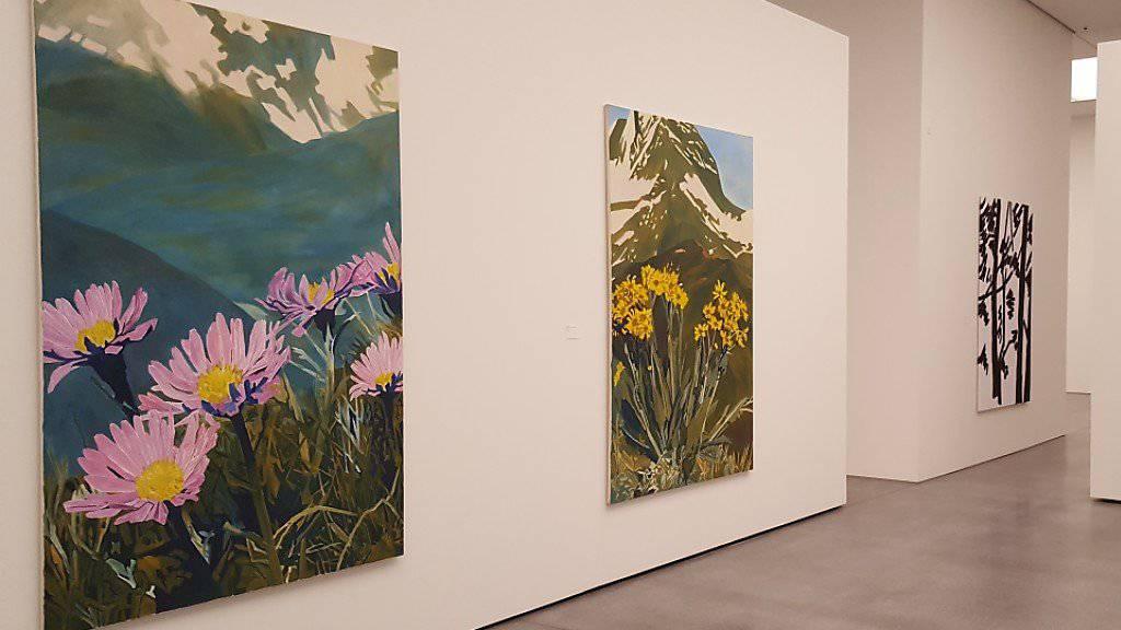 Berge, Bergblumen, Bergtiere: Die deutsche Malerin Anne Loch blieb über viele Hundert Gemälde ihrem Thema treu.