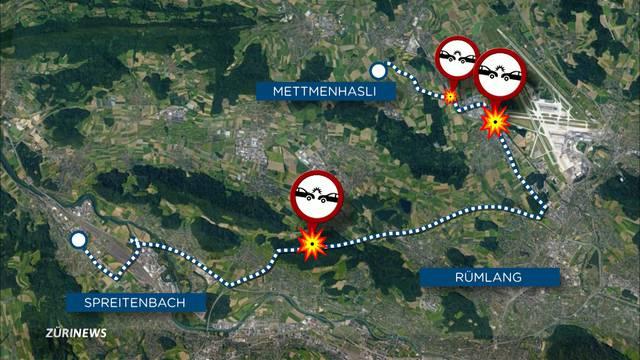 Eine Verfolgungsjagd von Zürich nach Aargau
