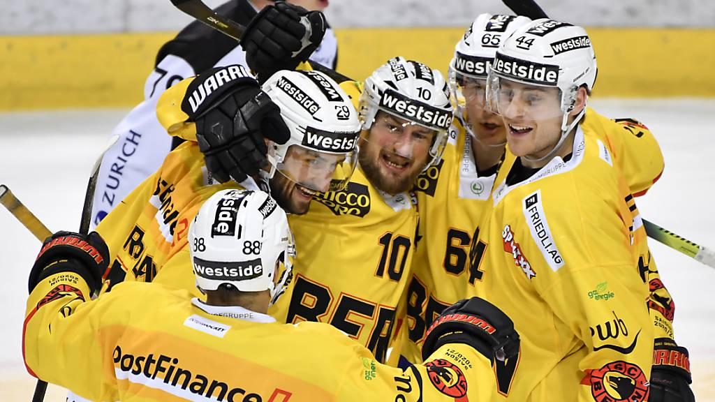 Bern und Rapperswil-Jona Lakers siegen auswärts
