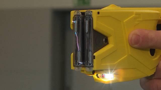 Grenchner Stadtpolizei benutzt Taser – wenn sie denn verfügbar sind