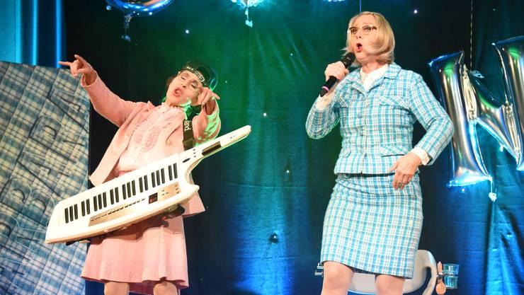 Barbara Hutzenlaub und Choco-Chantal begeisterten das Publikum!