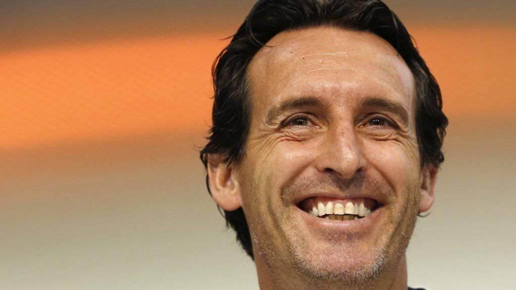 Der neue Hoffnungsträger bei Paris Saint-Germain heisst Unai Emery. Der 44-jährige Spanier gewann zuletzt mit dem FC Sevilla dreimal in Folge die Europa League