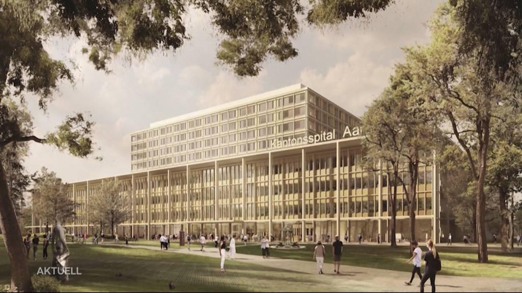 Neubau Kantonsspital Aarau: Regierung gibt grünes Licht