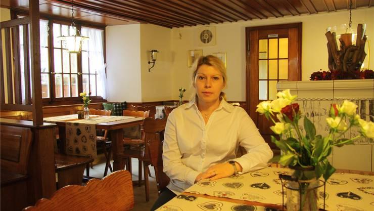 Viktoriya Furer freut sich auf ihre Gäste im «Jägerstübli».