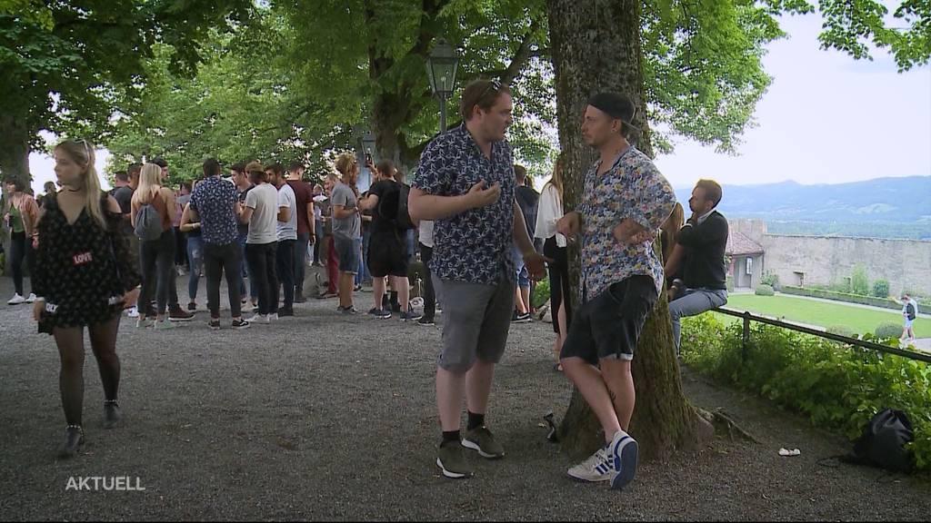 Schloss Lenzburg wird zum Techno-Club